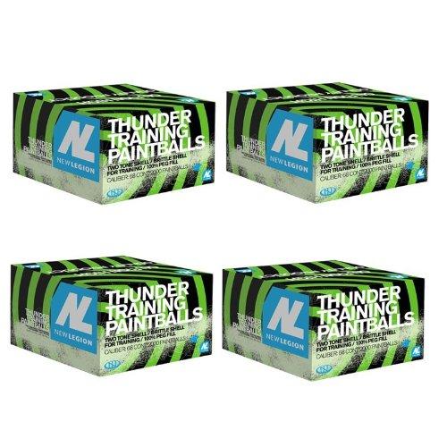 New Legion Thunder Paintballs 8000 Stk