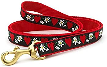 Up Country Hearts & Flowers Dog Leash