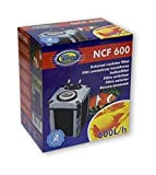 Aqua Nova exterior filtro con 600L/h Potencia, incluye filtro material para el acuario