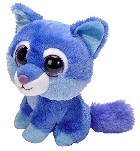 Wild Republic 19569 Sassy Scents - geurend pluche dier - wolf - blauwe bessen, blauw, 13 cm