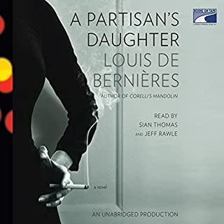 A Partisan's Daughter audiobook cover art
