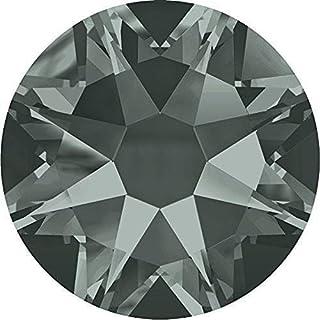 2000, 2058 & 2088 Swarovski Nail Art Gems Black Diamond   SS16 (3.9mm) - Pack of 100   Small & Wholesale Packs