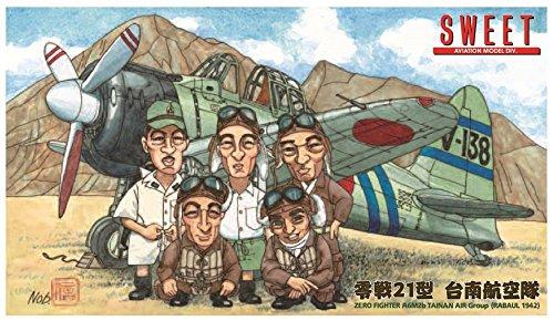 スイート 1/144 日本海軍戦闘機 零戦21型 台南航空隊 プラモデル 14137