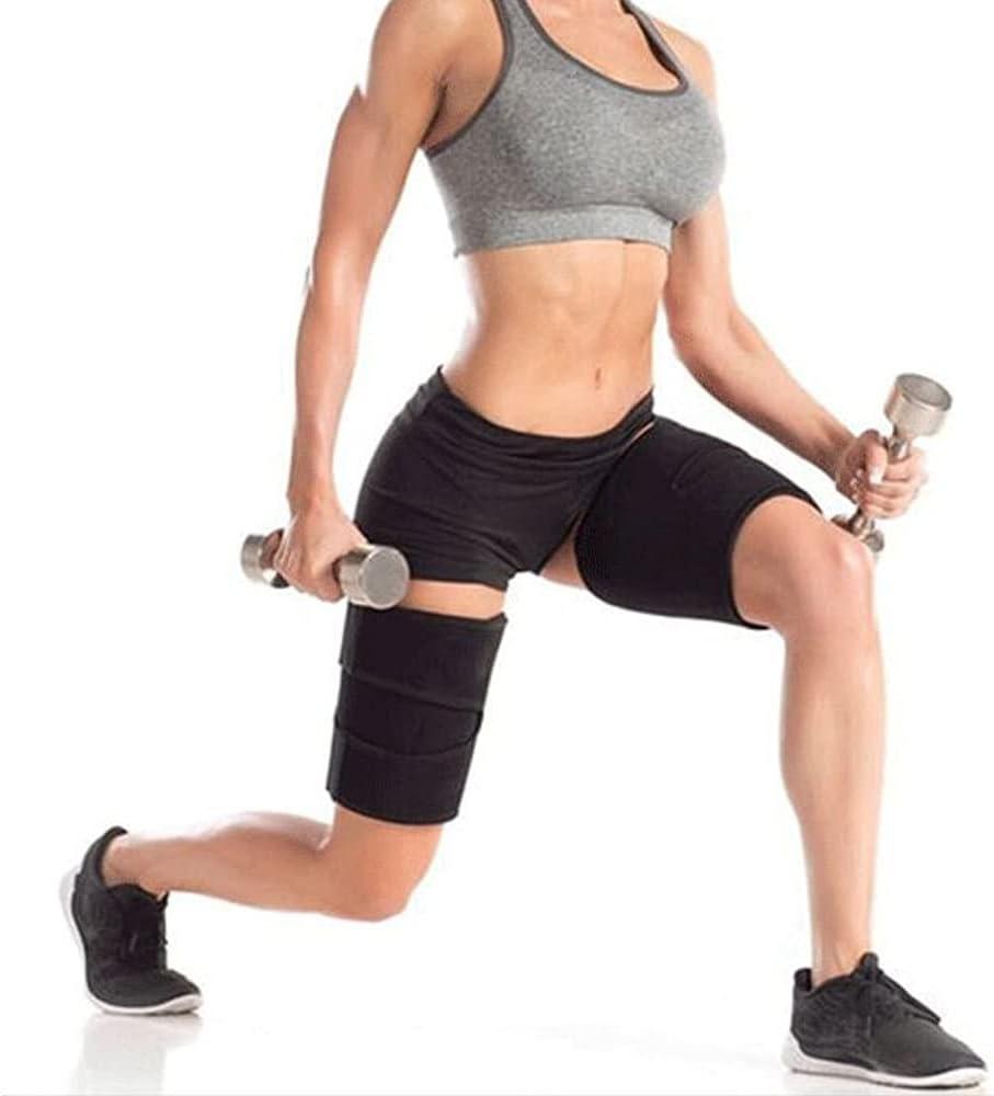 Adjustable quality assurance Groin Support 2pcs Thigh Stabili shop Hip Wrap Strap Waist