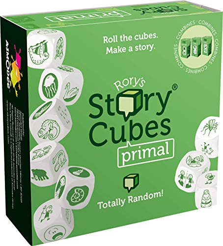 The Creativity Hub RSC30 Rory's Story Cubes Primal, Mehrfarbig