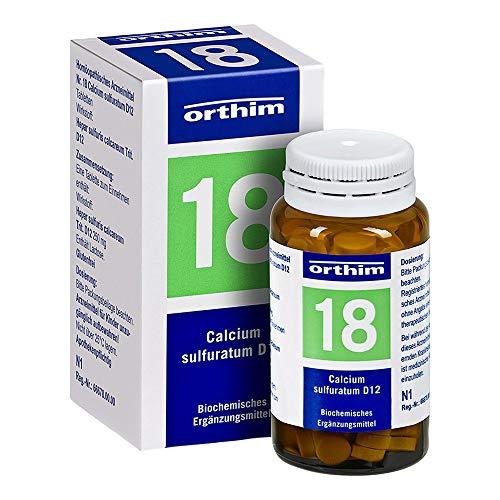 BIOCHEMIE Orthim 18 Calcium sulfuratum D 12 Tabl. 100 St