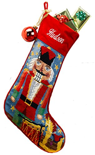 Needlepoint Christmas Stocking: Nutcracker