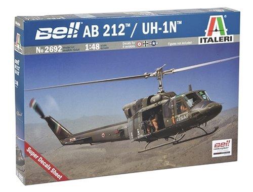 Italeri 510002692 - 1:48 AB 212 /UH 1N Helikopter