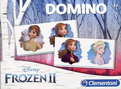 Clementoni- Domino-Disney Frozen 2- 18053