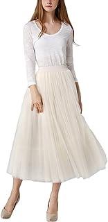 96fb4ea69 Amazon.es: Beige - Faldas / Mujer: Ropa
