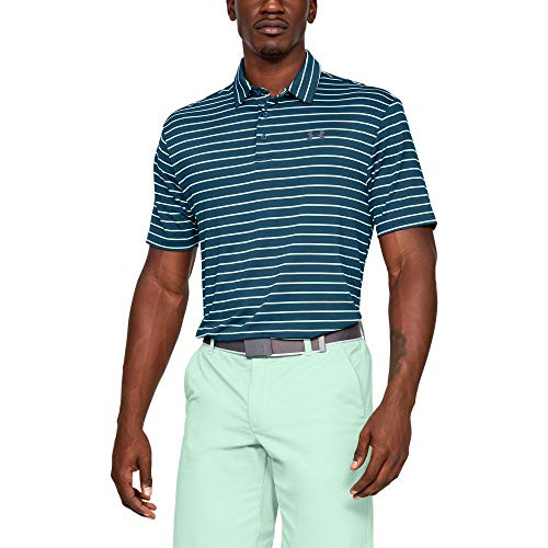 Under Armour Playoff 2.0, Polo Homme, Bleu (Petrol Blue(438)), Taille M