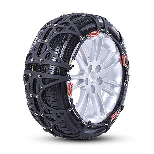 Cadena de nieve SUV universal furgoneta neumáticos para nieve rompehielos (Tamaño : Large)
