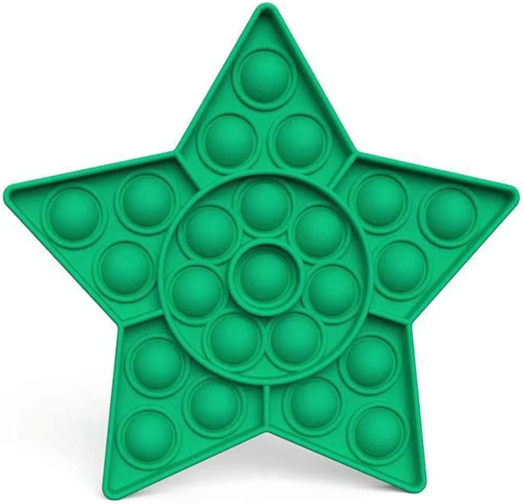 Bdwing Push Pop Bubble Sensorielle Fidget Jouet Silicone Anti-Stress Sensoriels /à Presser Jouets Educatifs de Besoins Sp/éciaux Dautisme Special Needs Silent Classroom
