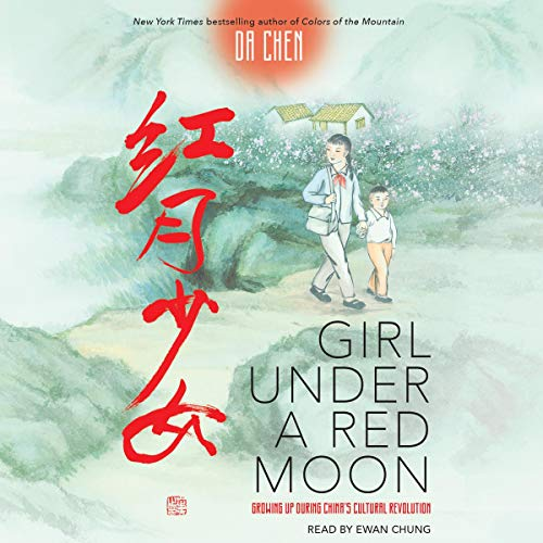 Girl Under a Red Moon audiobook cover art
