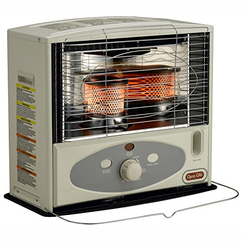 Great Deal! Dyna-Glo RMC-55R7 Indoor Kerosene Radiant Heater, 10000 BTU, Ivory