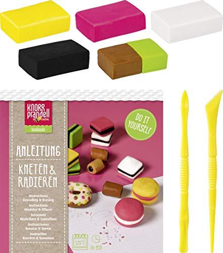 Knorr prandell 212159105, Bastel-Set Tasty Candies, Kneten & Radieren