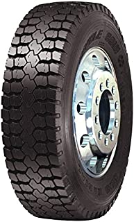 Double Coin RLB1 Open Shoulder Drive-Position Commercial Radial Truck Tire - 225/70R19.5 12 ply