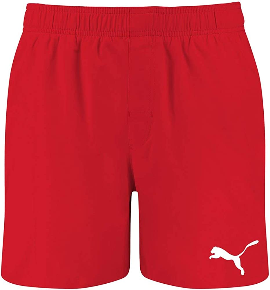 Puma swim men`s mid shorts trunks,costume da bagno a pantaloncini per uomo,in poliestere 100 % 100002245
