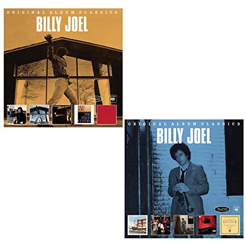 Original Album Classics Vol. 1 and Vol. 2 - Billy Joel Greatest Hits 10 CD Album Bundling