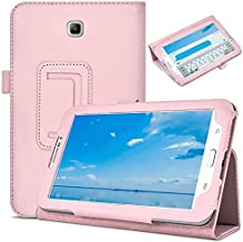 DETUOSI Leather Cover for Samsung Galaxy Tab 3 7.0