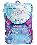 Seven Zaino Scuola Sdoppiabile Big - Frozen Spirit Of Adventure, Rosa