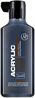 Montana Cans Acrylic Marker Ink Refills, 180ml Bottle, Shock Black (MR180SB)
