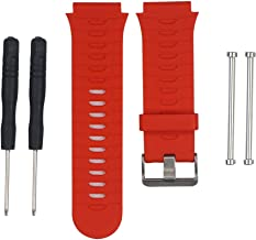 Band for Garmin Forerunner 920XT Watch, Silicone Wristband Replacement Watch Band for Garmin Forerunner 920XT (Red)