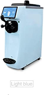 TX® soft serve ice cream maker commercial ice cream dispenser sorbet maker professional ice cream machine 3.8L Cylinder's size Built-in WiFi linking function controlled by cellphone 20L/h (blue color, 220V/50HZ)