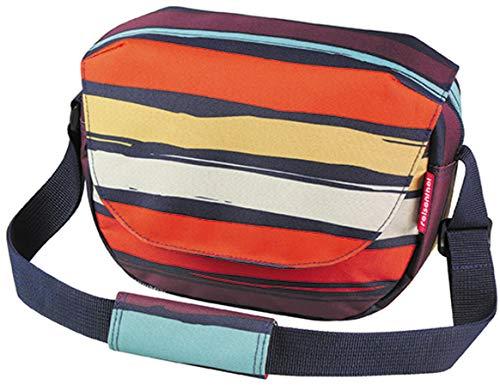 KlickFix Damen Funbag Lenkertasche, Artist Stripes, 4 Liter