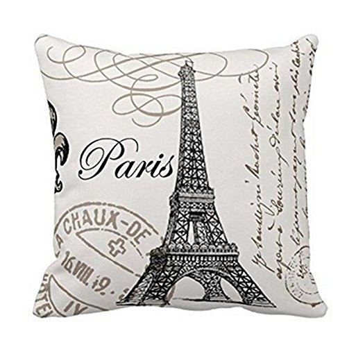 jieGorge Tower Sofa Bed Home Decoration Festival Pillow Case Cushion Cover, Pillow Case, Products for Christmas