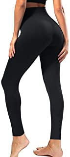 High Waisted Leggings for Women – Soft Athletic Tummy Control Pants for Running..