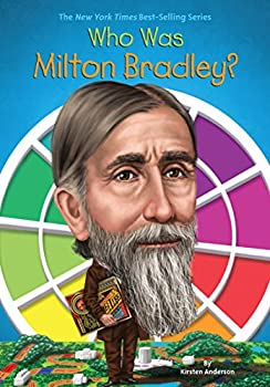 Library Binding Who Was Milton Bradley? Book