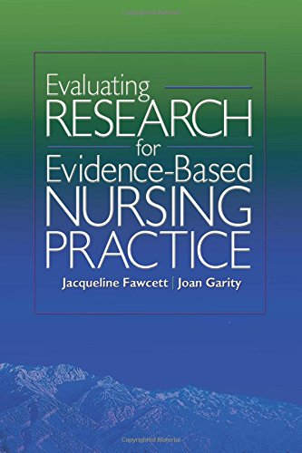 Download Evaluating Research for Evidence-Based Nursing Practice 0803614896