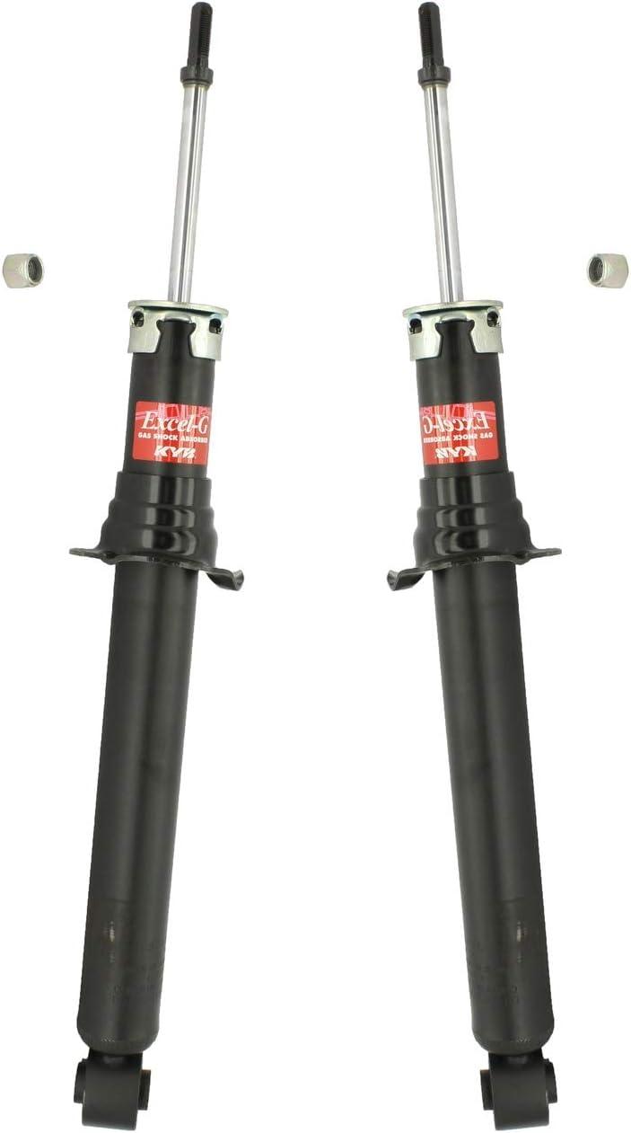 Pair Set 使い勝手の良い of 2 物品 Front KYB Suspension Excel-G For Struts LS43 Lexus