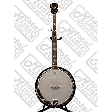 Oscar Schmidt Electric 5-String Banjo, Mahogany, w/ Pickup, OB5E