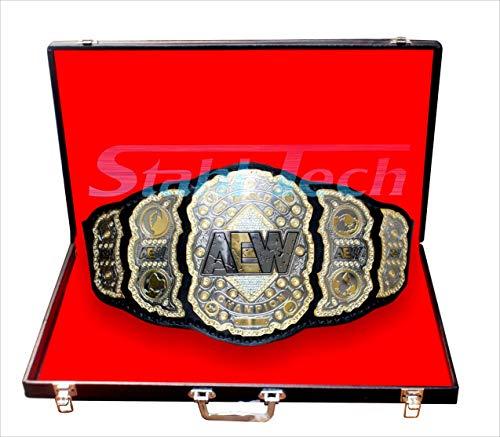 stahl tech AEW – Cinturón para campeón de Lucha última intervensión (réplica)