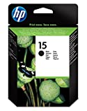 HP 15 C6615DE cartouche d'encre Authentique, imprimantes HP DeskJet, HP Fax, HP OfficeJet, HP PSC, Noir
