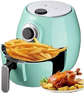 PLEASUR Friteuse à air 5L, friteuse à friteuse Intelligente Friteuse à air à Pizza Friteuse Multifonction Multifonction, Vert