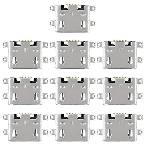 Liaoxig Huawei Spare 10 PCS-Ladeanschluss-Anschluss for Huawei Ascend Y600 Huawei Spare