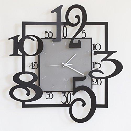 Orologio Amos di Arti e Mestieri colore nero
