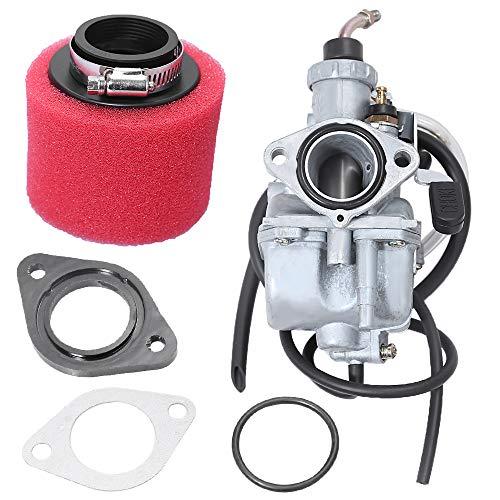 Zreneyfex Carburetor with Racing Air Filter for Predator 212cc 6.5HP Go Kart VM22 26MM