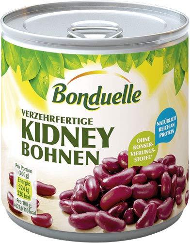Bonduelle Kidney Bohnen (rote Bohnen) - 12x 200 g