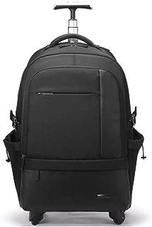 RMXMY Business Suitcase Universal Wheel Trolley Bag Multi-Function Junior High School Student Bag Large Capacity Men and Women Shoulder Bag Outdoor Large Capacity Travel Bag (Color : Black)