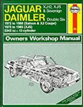 Jaguar Xj12, Xjs and Daimler Sovereign Double Six Owner's Workshop Manual (Service & Repair Manuals)