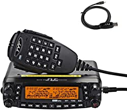 TYT TH-9800 Quad Band 50W Cross-Band Mobile Car Ham Radio Black