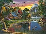 Buffalo Games - Kim Norlien - Mountain Paradise - 1000 Piece Jigsaw Puzzle