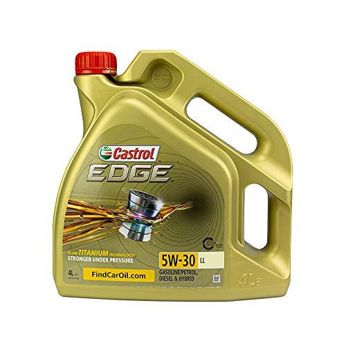 Castrol 15668E EDGE 5W-30 LL Engine Oil, 4L