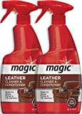 MAGIC Leather Cleaner and Conditioner - Ultra Violet Protectants Help Prevent...