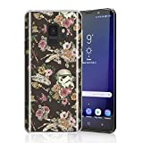 Durable Case for Galaxy S9, Raised Edges Scratch Resistant Lightweight Flexible Soft TPU Protective Cell Phone Cover for Samsung Galaxy S9 Star Wars