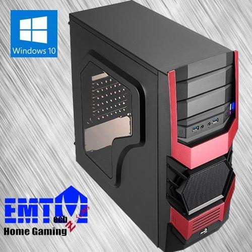 EMTech Home Gaming FX-Class V5   ASRock 970 Pro3 R2.0 Mainboard   AMD FX-6300 3.5Ghz   Radeon R7 370 4GB   8GB G.Skill DDR3 1866   1TB HDD + 120 GB SSD   750W 80+ Gold Thermaltake PSU   (Windows 10)